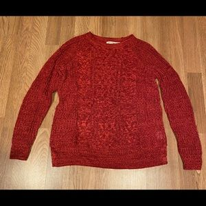 Faded Glory Sweater (never worn) 67% cotton